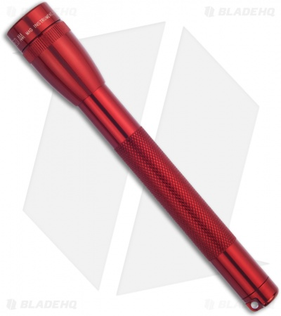 Maglite Mini LED Flashlight 2-Cell AAA Red (77 Lumens)