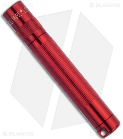 Maglite LED Solitaire Flashlight Keychain AAA Red (37 Lumens)
