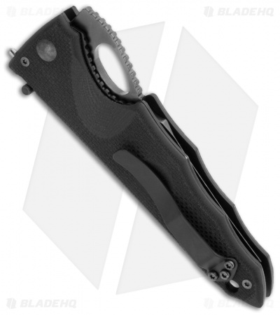 "Fox Knives Bantay Knife Borut Kincl Folder (3.75"" Black) SLO-01"
