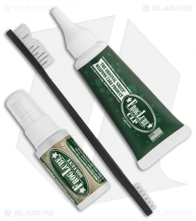 FrogLube Complete Weapon Care Kit w/ CLP, Solvent & Nylon Cleaning Brush