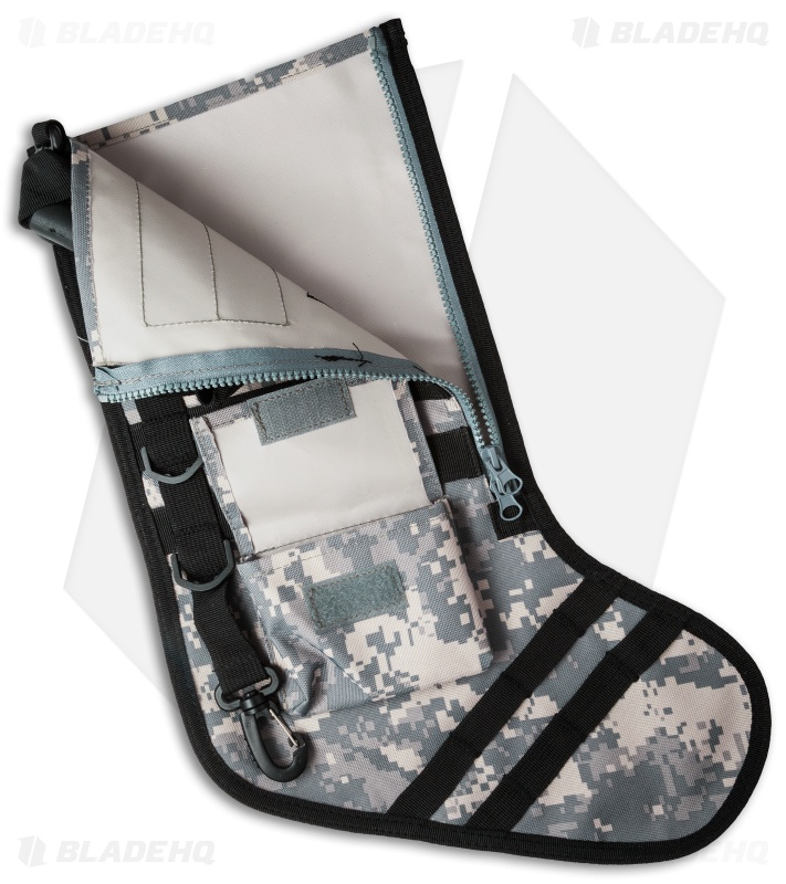 tactical christmas stocking deluxe molle elite version acu digi camo - Camo Christmas Stocking