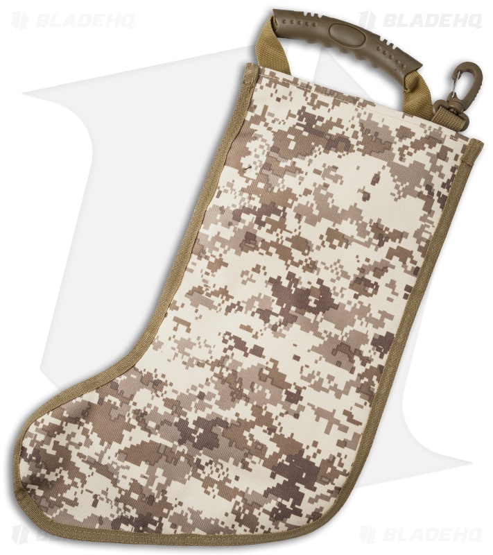 tactical christmas stocking deluxe molle elite version desert digi camo - Camo Christmas Stocking