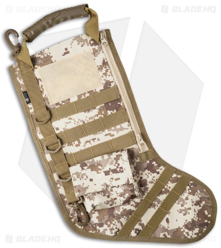 Tactical Christmas Stocking Deluxe Molle Elite Version (Desert ...