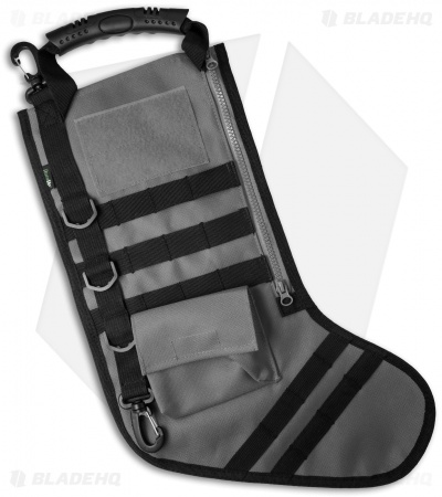 Tactical Christmas Stocking Deluxe Molle Elite Version (Gray)