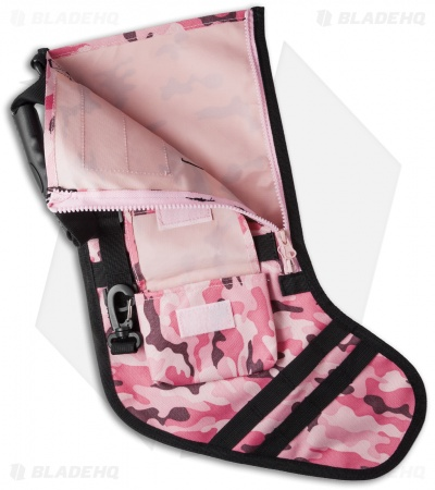 Tactical Christmas Stocking Deluxe Molle Elite Version (Pink Camo)