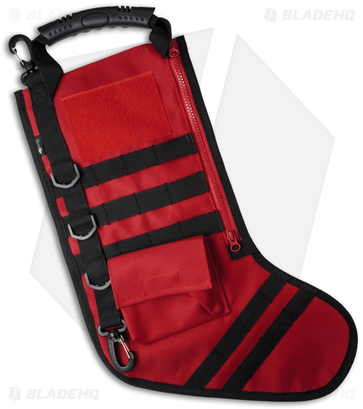Tactical Christmas Stocking Deluxe Molle Elite Version (Red ...