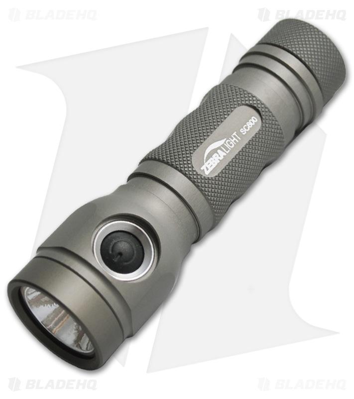 ZebraLight SC600 Flashlight Cree XM-L Cool White LED 750 Lumens
