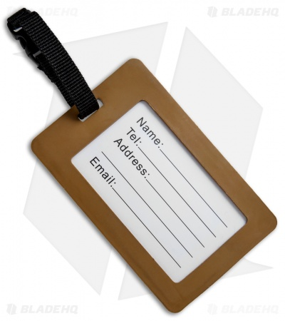 "5ive Star Gear ""I'm Your Huckleberry"" PVC Luggage Tag"