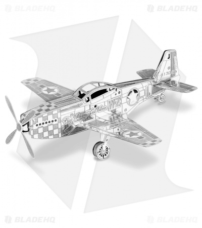 P-51 Mustang - Fascinations Metal Earth 3D Laser Cut Steel Models
