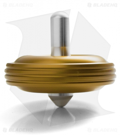 Karas Kustoms Machined Toy Spinning Top Gold (Aluminum)