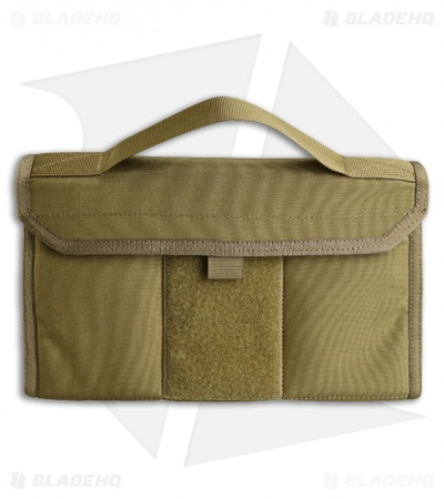 Tactical Geek Block C Nylon 6 Knife Carry Case (Tan)
