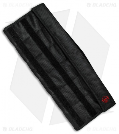 Todd Begg Knives 12 Slot Knife Pouch - Black Nylon