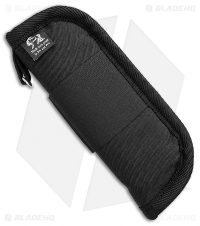 "Unique Cases 8"" Deluxe Zippered Knife Pouch w/Elastic Strap -- USA Made"