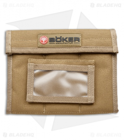 Boker Plus Knife Vault Small Coyote Brown Storage Case 09BO155
