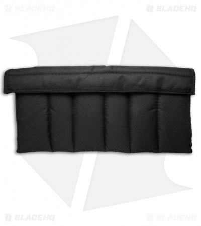 12 Knife Attache Storage Case Pouch (Black Nylon / Fleece Lined)