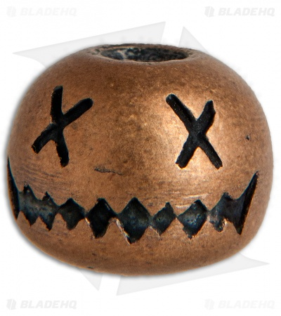 Audacious Concept Large Smiley Bead - Bronze