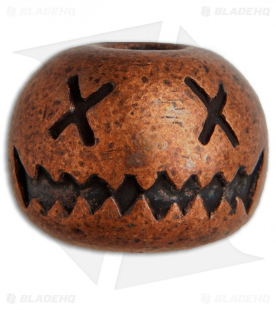Audacious Concept Smiley Bead - Copper