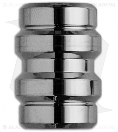 Grumpy's EDC Titanium Keg Bead - Polished Finish