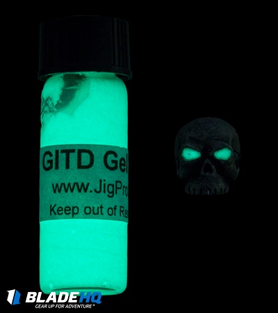 Jig Pro Shop Glow in the Dark Gel Paint (3.7ml)