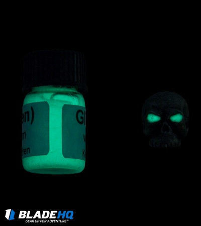 Jig Pro Shop Green Glow in the Dark Gel Paint (1.85ml)
