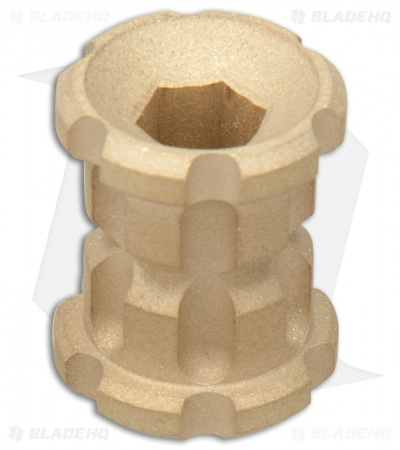 Koch Tools Ball Nose Brass Bead - Smooth Blasted