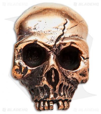Lion ARMory Ancient Skull Lanyard Bead Copper