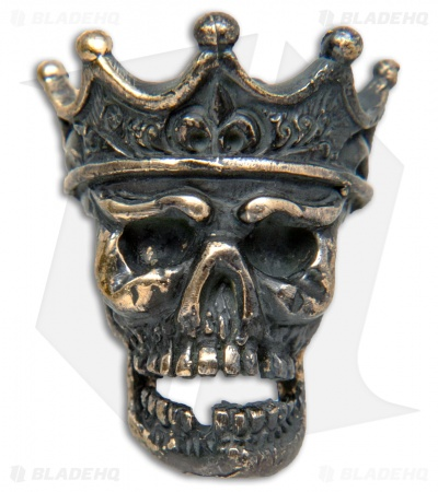 Lion ARMory King of the Dead Bead Brass Black Patina