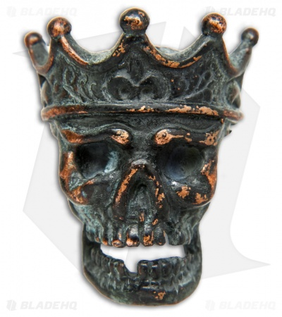 Lion ARMory King of the Dead Bead Copper Black Patina
