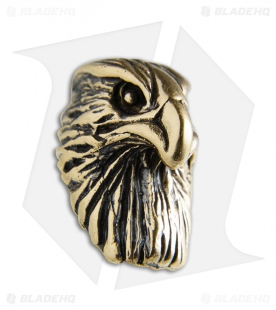 Lion ARMory Bold Eagle Lanyard Bead Brass