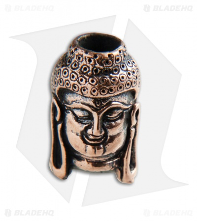 Lion ARMory Buddha Lanyard Bead Copper