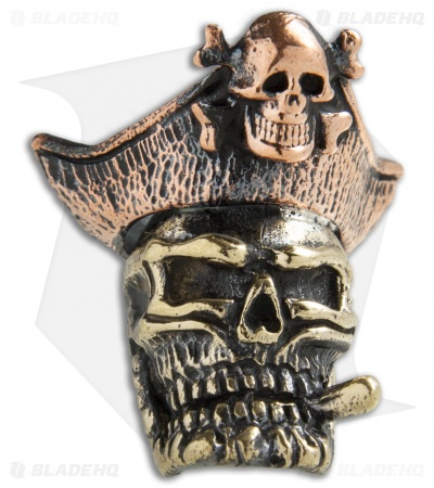 Lion ARMory Pirate Of Doom Bead Brass w/ Copper Hat