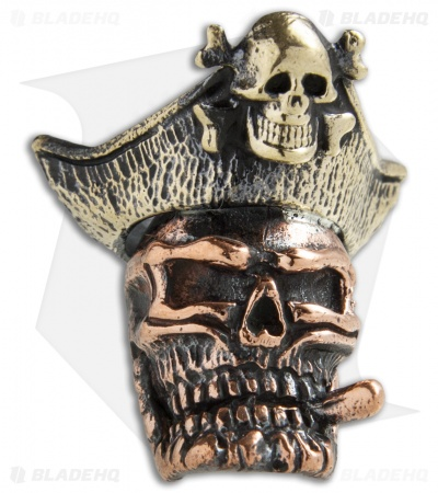 Lion ARMory Pirate Of Doom Bead Copper w/ Brass Hat
