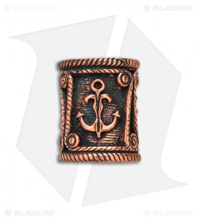 Lion ARMory Nautical Drum Lanyard Bead Copper