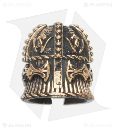 Lion ARMory Royal Helmet Bead Brass