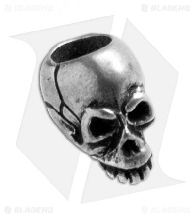 Schmuckatelli Joe Skull Lanyard Bead (Pewter)