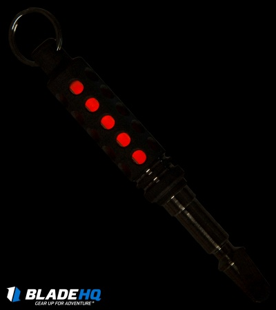 Spalinger Gear Round Tritium Pry-Tool Key Chain (Blasted Raw)