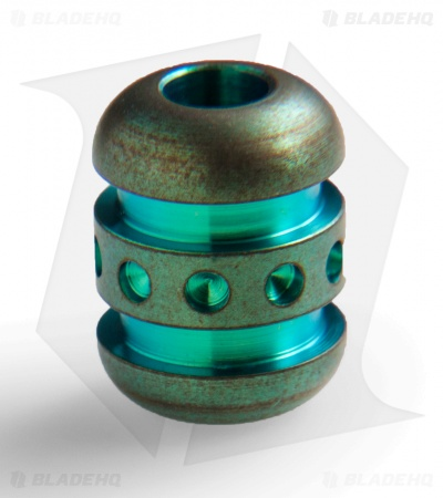 TiSurvival Titanium Large Droid Bead - Lady Liberty Green