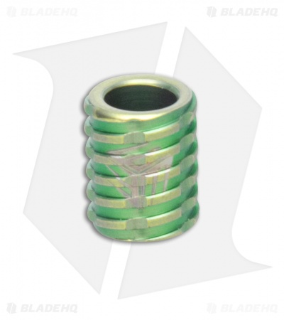 WE Knife Co. Titanium Lanyard Bead (Green) A-02A