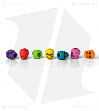Lanyard Skull Beads Small (Set of 10) Assorted