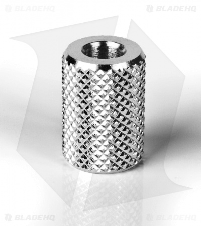 JigPro Lanyard Bead Solid Knurled Cinch Sleeve (Polished)