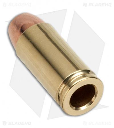 bullet bead copper brass back dl - Best Of Lanyard Beads for Knives