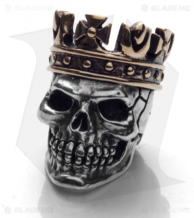 GD Skulls King Skull 2 Silver/Bronze KC5