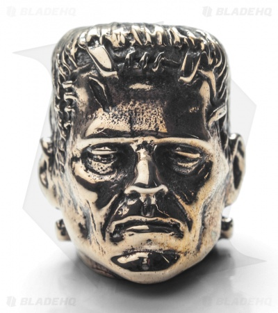 GD Skulls Monster's World Frankenstein Bead - Bronze