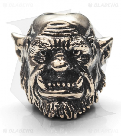 GD Skulls Monster's World Ogre Bead - Bronze