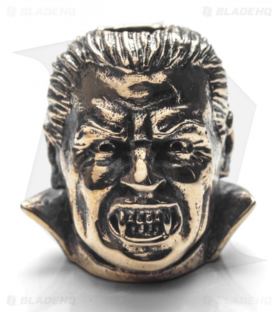GD Skulls Monster's World Dracula Bead - Bronze