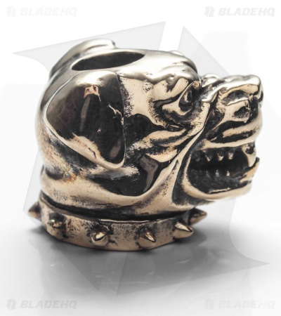 GD Skulls Monster's World Cerberus Bead - Bronze