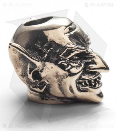GD Skulls Monster's World Goblin Bead - Bronze