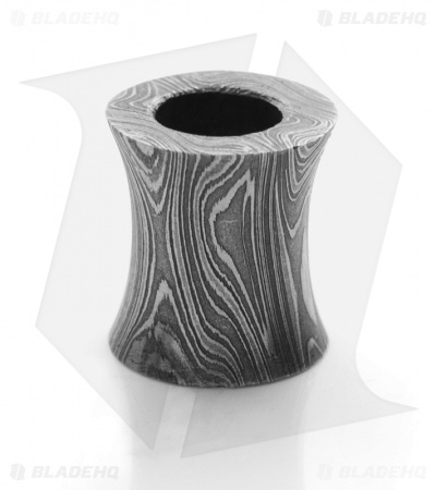 Grindworx Concave Barrel Bead (Damascus)