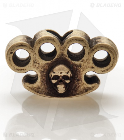 Grindworx X Schmuckatelli Knuckle Bead (Brass Oxidized)