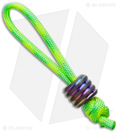 Hanks by Hank HBH Hardware Twisted Fatty Titanium Bead Spectrum